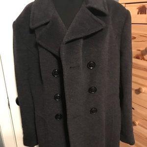 ST. JOHN'S BAY charcoal coat